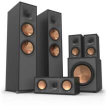 Klipsch R-620F 5.1 hangfal szett (R-51M polcsugárzóval), fekete