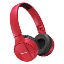 Pioneer SE MJ 553BT-K Bluetooth fejhallgató piros