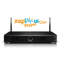 Zappiti Player 4K Duo Multimédia lejátszó
