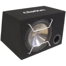 Clarion SW-2513B 25 cm-es autó hi-fi bass-reflex mélyláda