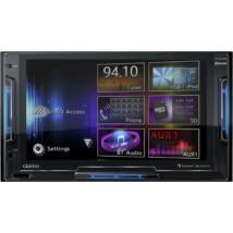 Clarion FX 504E 2 DIN multimédia lejátszó, navigációval
