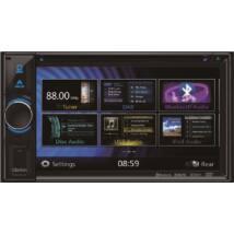 Clarion NX 404E 2 DIN multimédia lejátszó, navigációval