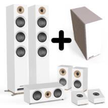 Jamo S 809 HCS + S 8 ATM + S 810 SUB 5.1.2 hangfalszett, fehér