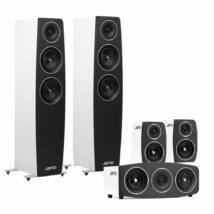 Jamo C 95 5.0 hangfalszett, fehér C91 háttérsugárzóval