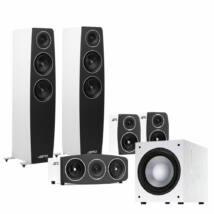 Jamo C 95 5.1 hangfalszett, fehér C91 háttérsugárzóval