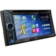 JVC KW-V31BT MP3/CD/DVD/USB-s 2 DIN-es fejegység