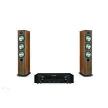 Marantz NR1200 fekete + Monitor Audio Bronze 6 dió, sztereó szett