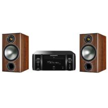 Marantz MCR611 + Monitor Audio Bronze 2 dióbarna