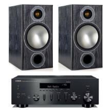 Yamaha R-N602 fekete + Monitor Audio Bronze 2 fekete sztereó szett
