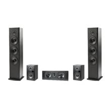 Polk Audio T50+T15+T30 5.0 hangsugárzó szett, fekete