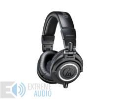Audio-Technica ATH-M50X fejhallgató, fekete