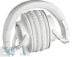 Audio-Technica ATH-M50X fejhallgató, fehér