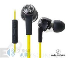 Audio-Technica ATH-CK323i sárga fülhallgató