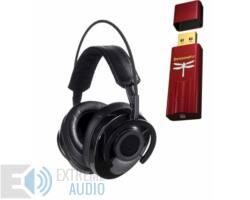 AudioQuest NightHawk Carbon fejhallgató + Dragonfly RED USB DAC