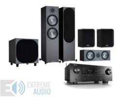 Denon AVR-S950H + Monitor Audio Bronze 500 5.1 házimozi szett, fekete