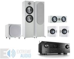 Denon AVR-S950H + Monitor Audio Bronze 500 5.1 házimozi szett, fehér