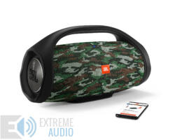 JBL BoomBox vízálló hordozható Bluetooth hangszóró, squad (Bemutató darab)