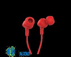 JBL C100SI fülhallgató, piros