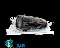 JBL Charge 4 vízálló hordozható Bluetooth hangszóró (CAMO) fekete-fehér terepszín