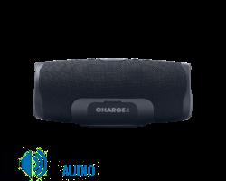 JBL Charge 4 vízálló hordozható Bluetooth hangszóró (Midnight Black) fekete (Bemutató darab)