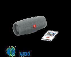JBL Charge 4 vízálló hordozható Bluetooth hangszóró (Dark Gray) szürke