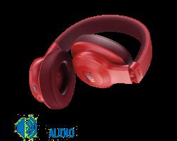 JBL E55 BT bluetooth fejhallgató, piros