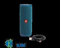 JBL Flip 5 ECO Edition bluetooth hangszóró (Ocean), kék (Bemutató darab)