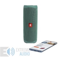 JBL Flip 5 ECO Edition bluetooth hangszóró (Forest), zöld (Bemutató darab)