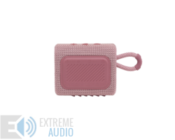 JBL GO 3  hordozható bluetooth hangszóró, pink