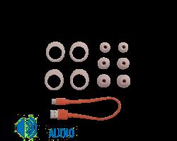 JBL Live Free NC+ True Wireless fülhallgató, rózsa + JBL szövetmaszk