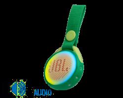 JBL JR POP Bluetooth hangszóró, zöld