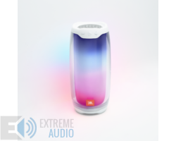 JBL Pulse 4 vízálló, Bluetooth hangszóró, fehér