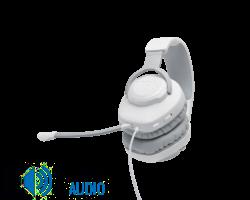 JBL Quantum 100  Gamer fejhallgató, fehér