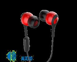JBL T200A fülhallgató, piros