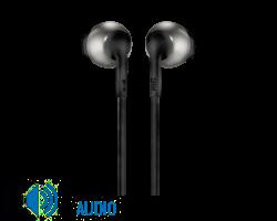 JBL T205BT fülhallgató, fekete