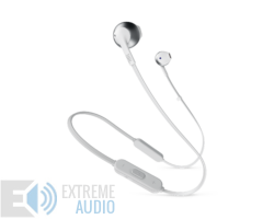 JBL T205BT fülhallgató, ezüst