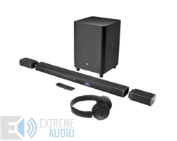 JBL Bar 5.1 soundbar, fekete + JBL T460 BT fejhallgató
