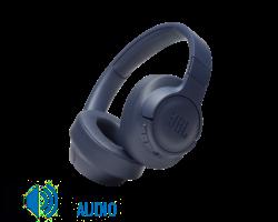 JBL T750BTNC zajszűrős Bluetooth fejhallgató, kék