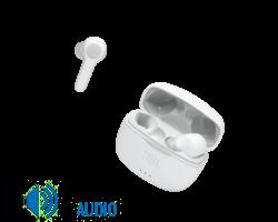 JBL Tune 215TWS vezeték nélküli fülhallgató, fehér (Bemutató darab)