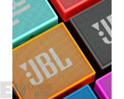 JBL GO hordozható bluetooth hangszóró, fekete