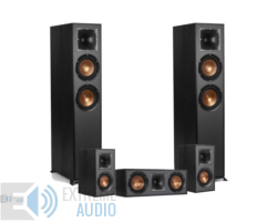Yamaha RX-V485 fekete + Klipsch R-620F 5.0 házimozi szett, fekete