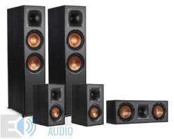 Klipsch R-820F 5.0 hangfalszett, fekete (R-820F+R-51M+R-52C)