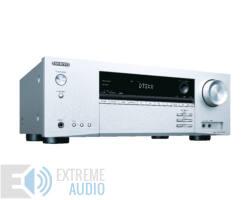 Onkyo TX-NR474 AV  5.1 hálózatképes UHD házimozi erősítő, ezüst