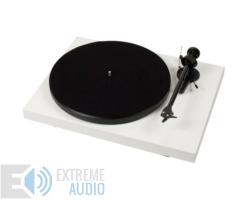 Pro-Ject Debut Carbon Phono USB DC lemezjátszó (Ortofon OM 10 hangszedővel) fehér