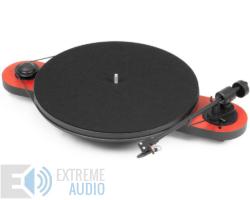 Pro-Ject Elemental USB analóg lemezjátszó Ortofon OM-5e piros