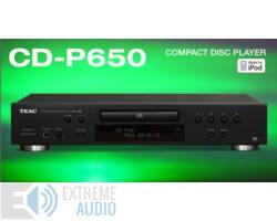 TEAC CD-P650 CD lejátszó, fekete