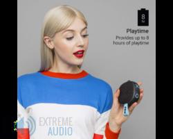 JAM Hang Up (HX-P101) Bluetooth hangszóró, fekete (Bemutató darab)