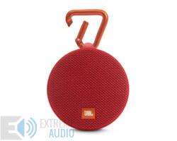 JBL Clip 2 vízálló, Bluetooth hangszóró piros