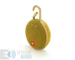 JBL Clip 3 vízálló Bluetooth hangszóró (Mustard Yellow) sárga
