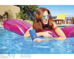 JBL Flip 4 vízálló bluetooth hangszóró, fekete